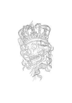 Skull Stencil, Tattoo Stencils, Skull Sleeve Tattoos, Hand Tattoos, Lion Tattoo Design, Tattoo Designs, Arte Cholo, Tattoo Caveira, Tattoo Project