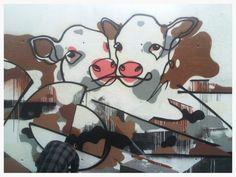 Street art. Weart festival. Barcelona. Maudea