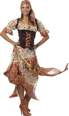 Zigeunerkleid Zigeunerkostüm für den Fasching