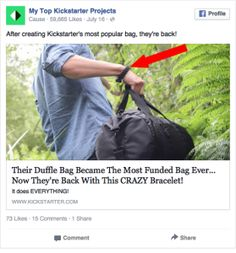 Facebook Ad Examples - Thousands of Real Ads with 1 click
