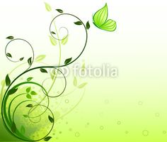 Vector: Floral background  vector