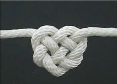 Красивые узлы из шнура