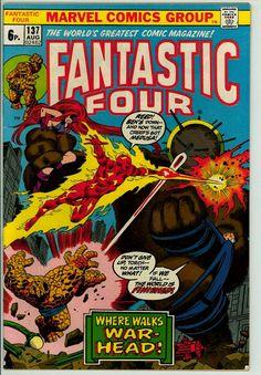 Fantastic Four 137 (FN- 5.5) pence