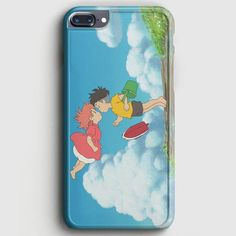 Ponyo On The Cliff iPhone 8 Plus Case | casescraft