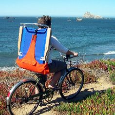 A Beach Chair Backpack Keeps Your Hands Free As You Travel To The Beach.