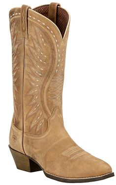 Ariat Ammorette Women's Brown Bomber Traditional R-Toe Western Boots | Cavender's