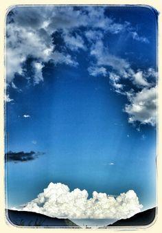 Papà le nuvole si possono toccare?