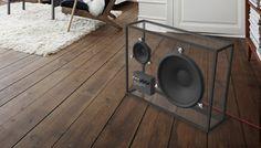 Glass speaker :)