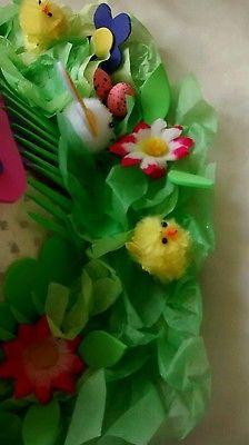 Bunny garden   Handmade Easter Bonnet Hat