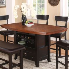 Williams Home Furnishings 21610 Owingsville Counter Height Dining Table | ATG Stores