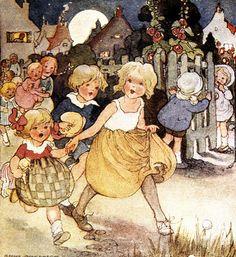 Vintage Mother Goose illustration courtesy of Finsbry on flickr