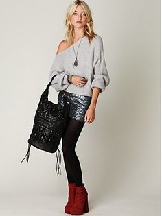 Obsessed with grey knit sweaters