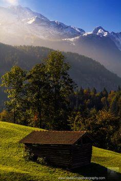 Partnach Gorge, Bavarian Alps, Germany; photo by .David Richter