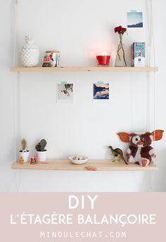 DIY – Étagère balançoire