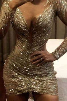 Cute Dresses, Prom Dresses, Formal Dresses, Elegant Dresses, Dress Outfits, Fashion Dresses, Trend Fashion, Sequin Party Dress, Dress To Impress