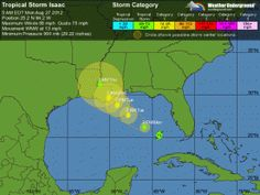 Tropical Storm Isaac: Tropical Storm Warning lifted