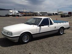 Only One in the US: 1988 Ford Falcon XF Ute