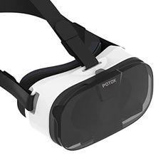 """Gafas 3D, Potok VR (Realidad Virtual) 3D VR Caja con Graduable Lente y Correa para iPhone 6s / 6 más Samsung Galaxy S6 / Nota4 / Note5 y 4.0 """"-6.5"""" Phones, Kit incluye: 1x 3D VR (Realidad Virtual) Gafas + 1x Trapo de limpieza + 1x Manual del cliente - https://realidadvirtual360vr.com/producto/gafas-3d-potok-vr-3d-realidad-virtual-caja-con-ajustable-lente-y-correa-para-iphone-6s-6-ms-samsung-galaxy-s6-nota4-note5-y-4-0-6-5-phones-kit-incluye-1x-3d-vr-gafas-1x-trapo-de-limpiez"""