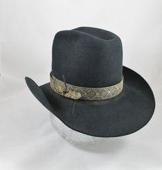 Vintage cowboy hat custom Miller Bros 5x by TheVintageFunkery