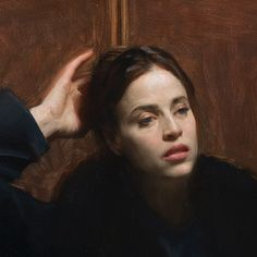 Nick Alm, the new Rembrandt of the century transcending cultural codes and trends Stockholm, Sweden – Klassik Magazine Portrait Images, Oil Portrait, Female Portrait, Painting Portraits, Portrait Ideas, Painting People, Figure Painting, Traditional Paintings, Traditional Art