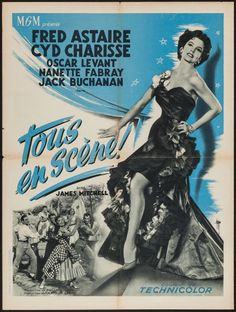"""Movie Posters:Musical, The Band Wagon (MGM, 1953). French Affiche (23.5"""" ... Image #1"""