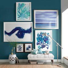 Scott Hile: Paint Swirl Print #williamssonoma