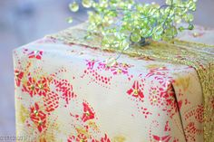 DIY: Holiday Wrapping Paper From Paper Doilies