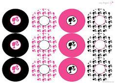 Freebie- Barbie party printables