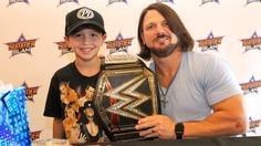 AJ Styles and Kevin Owens host autograph signing in Brooklyn, N. Kevin Owens, Aj Styles, Wwe, Superstar, Captain Hat, Champion, Wrestling, Instagram Posts, Brooklyn