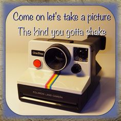Automatic - Miranda Lambert ---- love this song and that the picture is of the exact same type of camera I got from grandpa!