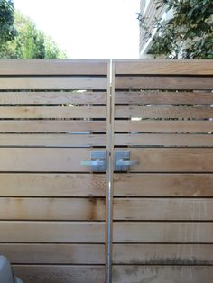 Like the entry trim: Horizontal Wood Fence Design: Benefits, Design, Material Options, &