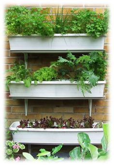 save water - stack your planters