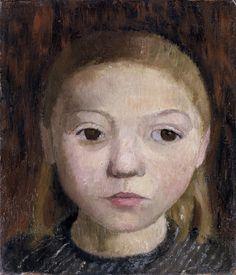 Gemälde von Paula Modersohn-Becker, ca. 1906, Öl auf Leinwand