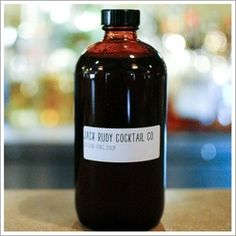 Jack Rudy Cocktail Co. | Artisan Tonic Syrup - Find. Eat. Drink.