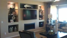 Entertainment centers and more in Arizona Entertainment Centers, Snow Man, Center Ideas, Drywall, Robin, Arizona, Family Room, Sweet Home, Room Ideas
