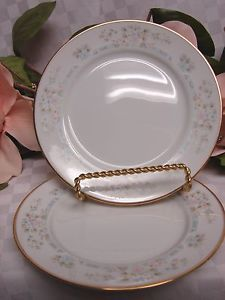 Lenox China Dinnerware Bouquet Collection Daisy Basket set 2 bread Plate