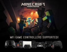 Finally the update of the Decade has arrived! Minecraft PE gets MFi Controller Support! Insta-Buy!