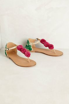 Cala Pompom Sandals