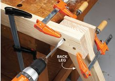 By Tom Caspar Few woodworking experiences are as sweet as working wood that's just been split from a recently felled tree. Green wood is much easier to shape… Woodworking Horse, Green Woodworking, Woodworking Furniture Plans, Woodworking Workbench, Popular Woodworking, Log Bedroom Furniture, Essential Woodworking Tools, Wood Spoon, Homemade Tools