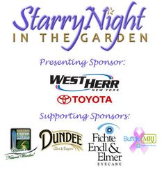 Night out to support the Erie County Botanical Gardens. Food, drink, music.