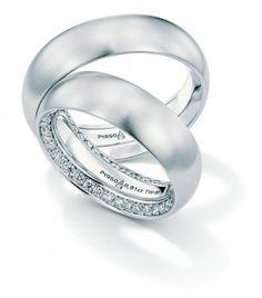 christian bauer platinum diamond wedding bands - Platinum Wedding Rings For Her