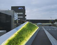 Project: AVL Platzgestaltung - PURPUR. ARCHITEKTUR ZT GMBH. This project done with high voltage LED Strip Lights available at www.lumilum.com