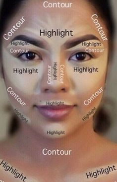 makeup, make up, and contour Bild