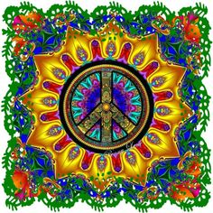 Hippie peace freaks ☮ peace signs in 2019 узоры, орнаменты, графика. Hippie Peace, Hippie Love, Hippie Chick, Hippie Art, Hippie Style, Peace Love Happiness, Peace And Love, Yin Yang, Peace Sign Art