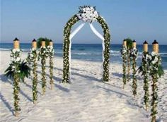 September 30 - October 6, 2012 Featuring Hawaiian Weddings beach wedding locations arch
