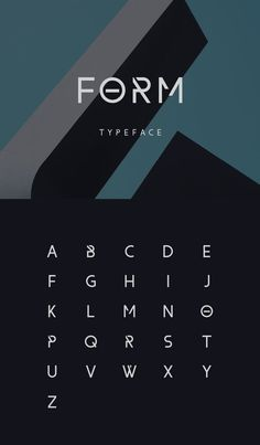 Form, a free font designed by Wassim Awadallah. - Fonts, Lettering, and Typefaces - Form, a free font designed by Wassim Awadallah. Ppt Design, Graphic Design Fonts, Icon Design, Lettering Design, Handwritten Fonts, Calligraphy Fonts, Typography Letters, Typography Logo, Alphabet Fonts