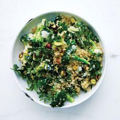 Broccoli-Quinoa Salad with Buttermilk Dressing Recipe