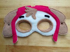 Skye Paw Patrol Costume, Ideas Para Fiestas, Wood Toys, Dyi, Projects To Try, Masks, Etsy, Birthday, Handmade Gifts
