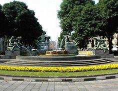 Fontana Angelica in piazza Solferino