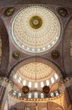 Dome of The New Mosque, Eminönü, Istanbul, Turkey by Sv K., via Flickr